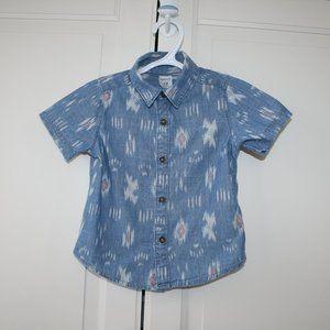 3/$20 Toddler boy Carter's dress shirt 18 months